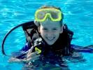 Moje vnučka Katka – potápěčka
