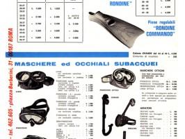 Cressi-sub 1969