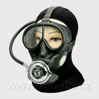 Celoobličejová maska Cressi-sub SCUBA.