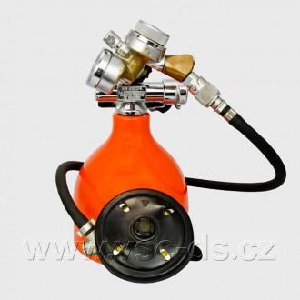 Potápěčská automatika Secor 200 s manometrem/PA 37.