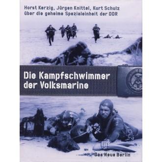 Titulní strana knihy Die Kampfschwimmer der Volksmarine.