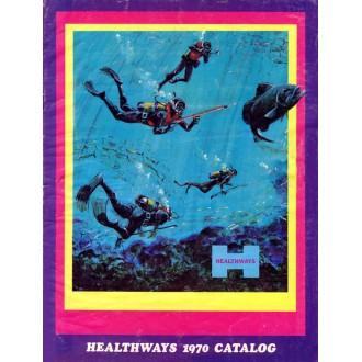 Katalog potápěčské firmy Healthways z roku 1970.