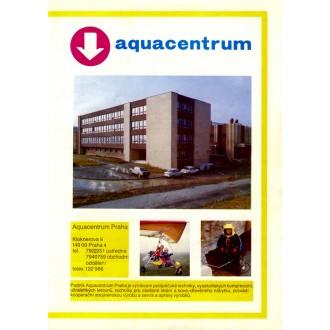 Katalog firmy Aquacentrum Praha z roku 1989.