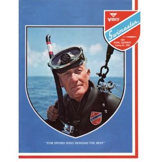 Katalog potápěčské firmy Voit Swimaster  z roku 1969.