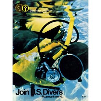 Katalog potápěčské americké firmy U.S.Divers Co z roku 1970.