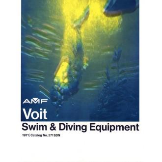 "Katalog spoleřnosti AMF Voit  - ""Swim & Diving Equipment"" z roku 1971."