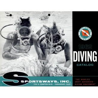 Katalog potápěčské firmy Sportsways z roku 1962.