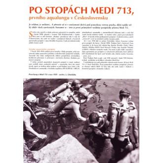 Po stopách Medi 713, prvního aqualungu v Československu