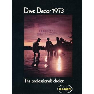 Katalog americké potápěčské firmy Dacor z roku 1973.