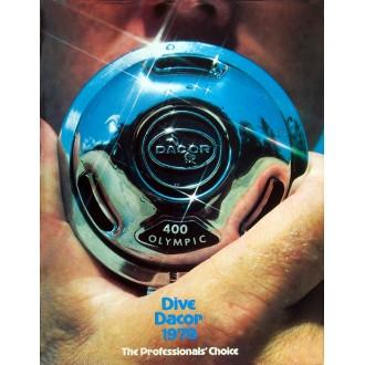 Katalog americké potápěčské firmy Dacor z roku 1978.
