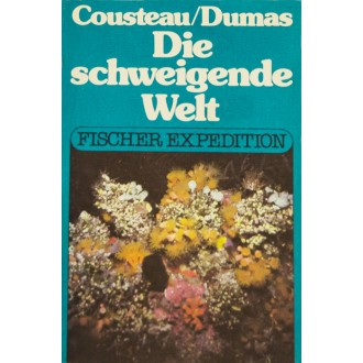 Titulní strana obalu knihy Die schweigende Welt - Svět ticha.