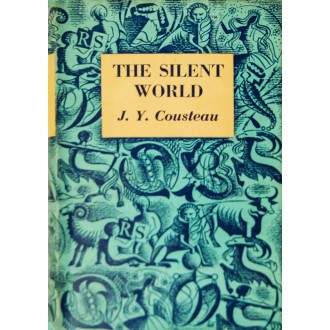 Titulní strana knihy The Silent World - Svět ticha.
