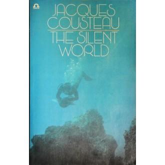 Titulní strana obalu knihy The Silent World - Svět ticha.