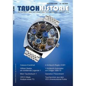 Titulní strana časopisu Tauchhistorie č. 13 - 2020