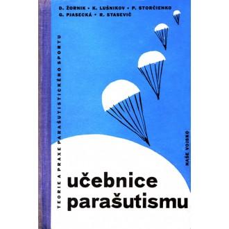 Titulní strana knihy Učebnice parašutismu.