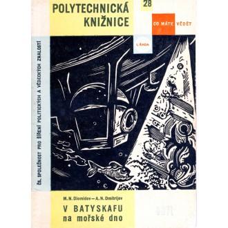 Titulní strana knihy V batyskafu na mořské dno.